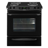 Frigidaire 30-in 4.2 cu ft Self-Cleaning Slide-In Electric Range (Black)