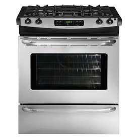 Frigidaire 4.2-cu ft Slide-In Gas Range (Stainless) (Common: 30-in; Actual 30-in)