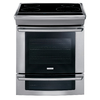 Electrolux 30-in Smooth Surface 4.2 cu ft Self-Cleaning Slide-In Convection Electric Range (Stainless)