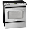 Frigidaire Professional 30-in Smooth Surface 5-Element 4.2 cu ft Self-Cleaning Slide-In Convection Electric Range (Stainless)
