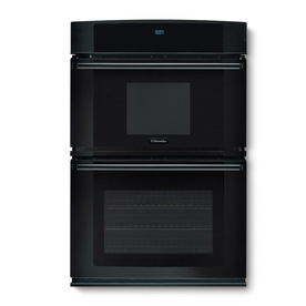 Electrolux 30-in Self-Cleaning Microwave Wall Oven Combo (Black)