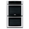 Electrolux Self-Cleaning Convection Double Electric Wall Oven (Stainless Steel) (Common: 27-in; Actual 27-in)