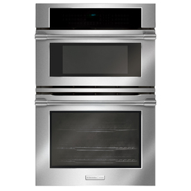Electrolux Icon Self-Cleaning Microwave Wall Oven Combo (Stainless) (Common: 30-in; Actual 30-in)
