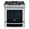 Electrolux 30-in 4.2 cu ft Self-Cleaning Slide-In Convection Gas Range (Stainless)