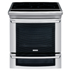 Electrolux 30-in Smooth Surface 5-Element 4.2 cu ft Self-Cleaning Slide-In Convection Electric Range (Stainless)