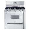 Frigidaire Professional 36-in 5-Burner Freestanding 3.7 cu ft Gas Range (Stainless Steel)