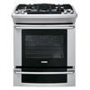Electrolux 30-in 5-Burner 4.2 cu ft Self-Cleaning Slide-In Convection Gas Range (Stainless Steel)