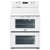 Frigidaire Gallery 30-in Smooth Surface 5-Element 3.5 cu ft/3.5 cu ft Self-Cleaning Convection Electric Range (White)