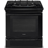 Electrolux 30-in 4-Burner 4.2 cu ft Self-Cleaning Slide-In Convection Gas Range (Black)