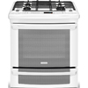 Electrolux 30-in 4-Burner 4.2 cu ft Self-Cleaning Slide-In Convection Gas Range (White)