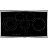 Electrolux 45 Series 5-Element Smooth Surface Electric Cooktop (Stainless Steel) (Common: 36-in; Actual 36.75-in)