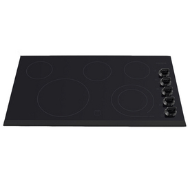 Frigidaire Gallery 5-Element Smooth Surface Electric Cooktop (Black) (Common: 36-in; Actual 36.75-in)