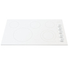 Frigidaire Gallery 5-Element Smooth Surface Electric Cooktop (White) (Common: 36-in; Actual 36.75-in)