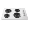 Frigidaire 30-in Electric Cooktop (White)