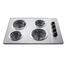 Frigidaire Electric Cooktop (Stainless Steel) (Common: 30-in; Actual 30-in)