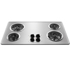 Frigidaire Electric Cooktop (Stainless Steel) (Common: 36-in; Actual 36-in)