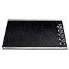 Frigidaire 3067 Series 5-Element Smooth Surface Electric Cooktop (Stainless Steel) (Common: 30-in; Actual 30.38-in)