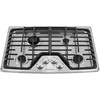 Frigidaire 4-Burner Gas Cooktop (Stainless Steel) (Common: 30-in; Actual: 30-in)