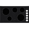 Frigidaire 5-Element Smooth Surface Electric Cooktop (Black) (Common: 36-in; Actual 36.75-in)