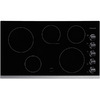 Frigidaire 5-Element Smooth Surface Electric Cooktop (Black Stainless Steel) (Common: 36-in; Actual 36.75-in)
