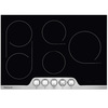 Frigidaire Professional 6-Element Smooth Surface Electric Cooktop (Stainless Steel) (Common: 36-in; Actual 36.75-in)
