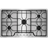 Frigidaire 5-Burner Gas Cooktop (Stainless Steel) (Common: 36-in; Actual: 36-in)