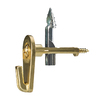 Cobra Megahook Brass Picture Hook
