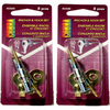 Cobra 2-Pack Steel Screw Hooks