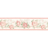 Norwall 8.5-in Red Prepasted Wallpaper Border