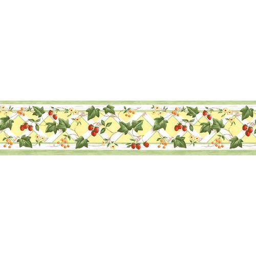 Norwall Kitchen Style Trellis Wallpaper Border$17$17