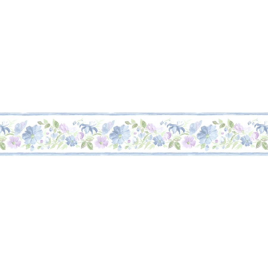 shop norwall 5 1 4 fluted floral prepasted wallpaper