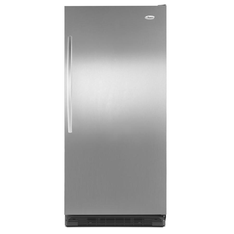 shop whirlpool 17 7 cu ft freezerless refrigerator