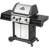 Huntington Classic 3-Burner (40000 BTU) Natural Gas Grill with Side Burner