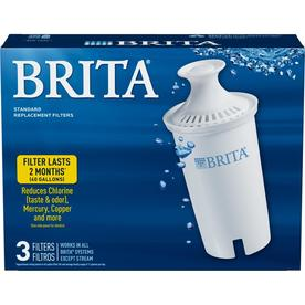 Brita 3-Pack Pitcher Replacement Water Filter