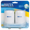 Brita 2-Pack On Tap Faucet Filtration Replacement Filters