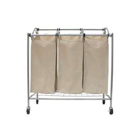 neatfreak 34.4-in x 33-in x 15.2-in Freestanding Mixed Material Laundry Sorter