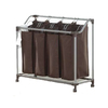 neatfreak 34.7-in x 35.1-in x 15.6-in Freestanding Mixed Material Laundry Sorter