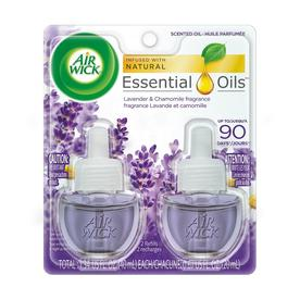 Airwick 2-Pack 0.67-oz Lavender and Chamomile Electric Air Freshener Refills