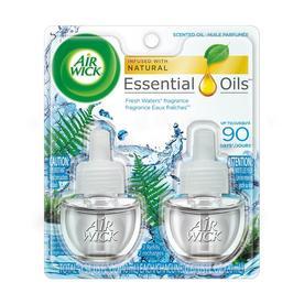 Airwick 2-Pack 1.34-oz Fresh Waters Electric Air Freshener Refill