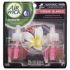 Airwick National Park Foundation 2-Pack 0.67-oz Tropical Plumeria and Sweet Honeysuckle Electric Air Freshener Refill