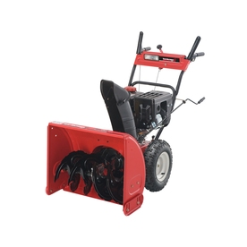 Yard Machines 277-cc 26-in 2-Stage Electric Start Gas Snow Blower with Headlight
