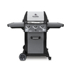 Broil King Monarch Black and Stainless Steel and Black Chrome 3-Burner (30,000-BTU) Liquid Propane Gas Grill
