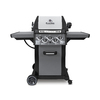Broil King Monarch Black and Stainless Steel and Black Chrome 3-Burner (30,000-BTU) Liquid Propane Gas Grill with Side and Rotisserie Burner