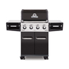 Broil King Regal Black and Stainless Steel and Black Chrome 4-Burner (50,000-BTU) Natural Gas Grill