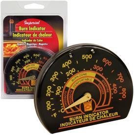 IMPERIAL 100 Fahrenheit to 850 Fahrenheit Magnetic Stove Thermometer