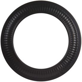 IMPERIAL 6-in x 9-1/2-in Black Matte Chimney Pipe