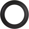 IMPERIAL 6-in Black Steel Stove Pipe Trim Collar