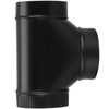 IMPERIAL 6-in x 12-in Black Matte Chimney Pipe