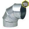 IMPERIAL 8-in Dia 90-Degree Galvanized Elbow Fitting