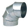 IMPERIAL 10-in Dia 90-Degree Galvanized Elbow Fitting